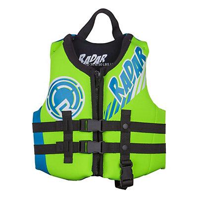 Radar Skis Hideo Toddler Life Vest 2016, Arancio-Verde-Glow, viewer