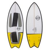 Ronix Koal Classic Fish Wakesurfer 2016, White-Black-Yellow, medium