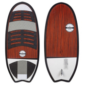 Ronix Koal Classic Stub Fish Wakesurfer 2016, White-Black-Wood, medium