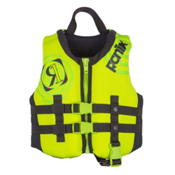 Ronix Vision Child Toddler Life Vest 2017, Lime-Gp Yellow, medium