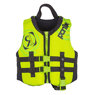 Ronix Vision Child Toddler Life Vest 2017, Lime-Gp Yellow, viewer