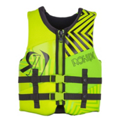 Ronix Vision Youth Junior Life Vest 2017, Lime-Gp Yellow, medium