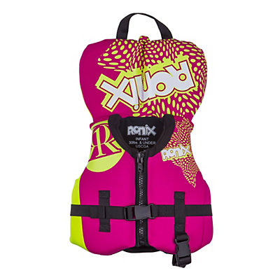 Ronix August Infant Infant Life Vest 2016, Pink-Highlighter, viewer