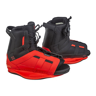 Ronix District Wakeboard Bindings, Caffeinated Red, viewer