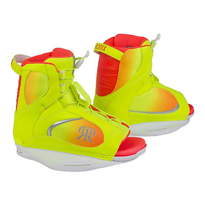 Ronix Luxe Womens Wakeboard Bindings, Highlighter, viewer