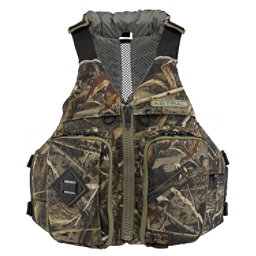 Astral Ronnie Fisher Fishing Kayak Life Jacket 2017, Realtree Max 5 Camo, 256