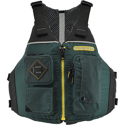 Astral Ronny Adult Kayak Life Jacket, Spruce Green, viewer