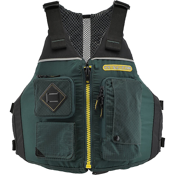 Astral Ronny Adult Kayak Life Jacket 2017, Spruce Green, 600