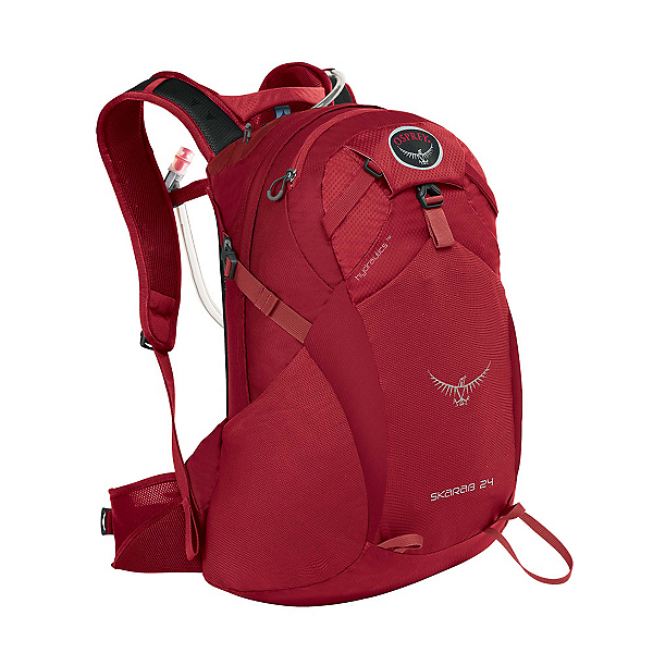 Osprey Skarab 24 Hydration Pack, Inferno Red, 600