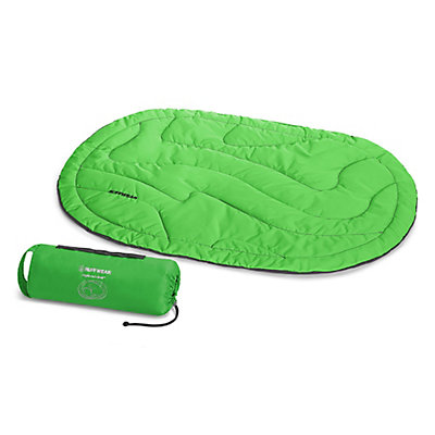 Ruffwear Highlands Bed Pet Bed, Meadow Green, viewer