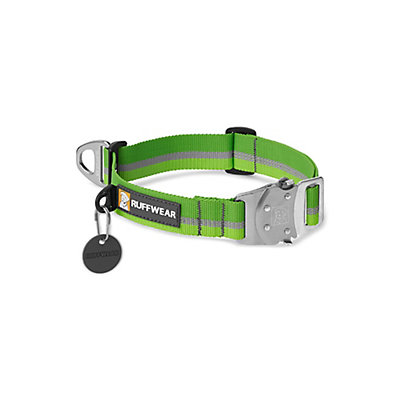 Ruffwear Top Rope Collar 2017, Meadow Green, viewer
