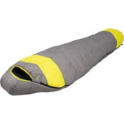 Alps Mountaineering Fahrenheit 0 Mummy Sleeping Bag, Grey-Green, 256