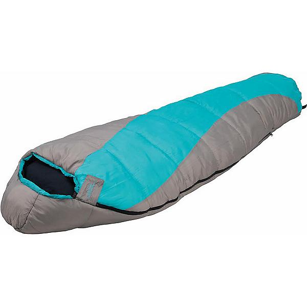 Alps Mountaineering Fahrenheit 0 Mummy Womens Sleeping Bag, Grey-Green, 600