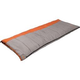 Alps Mountaineering Fahrenheit 20 Rectangular Sleeping Bag, Grey-Orange, 256