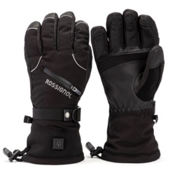Rossignol Winters Fire Heated Ski Gloves, Black, medium