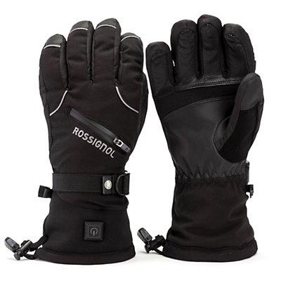 Rossignol Winters Fire Heated Ski Gloves, Black, viewer
