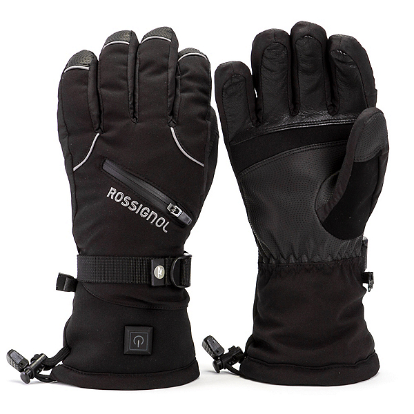 Rossignol Winters Fire Heated Gloves and Mittens, Black, 600