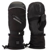 Rossignol Winters Fire Heated Ski Mittens, Black, medium