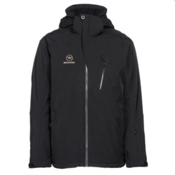 Rossignol Experience II STR Mens Insulated Ski Jacket, Black, medium