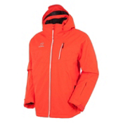 Rossignol Elite Mens Insulated Ski Jacket, Blaze Red, medium