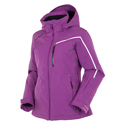 Rossignol Fairy Heather Womens Insulated Ski Jacket, Deep Orchid, viewer