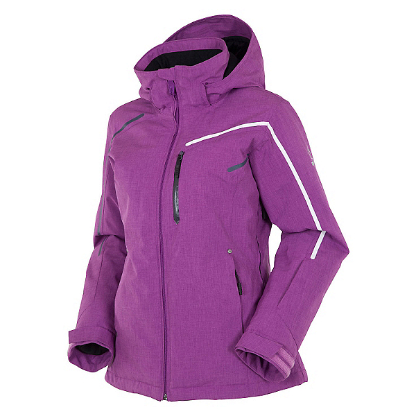 Rossignol Fairy Heather Womens Insulated Ski Jacket, Deep Orchid, 600