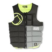 Liquid Force Flex Comp Adult Life Vest 2016, Black-Green, medium