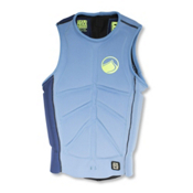 Liquid Force Cardigan Comp Adult Life Vest 2016, Blue-Green, medium