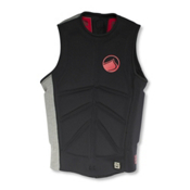 Liquid Force Cardigan Comp Adult Life Vest 2016, Black-Grey, medium