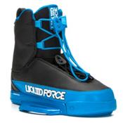 Liquid Force Tao Wakeboard Bindings, Black-Blue, medium