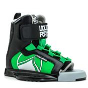 Liquid Force Rant Kids Wakeboard Bindings 2017, Black-Green, medium