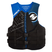 Hyperlite Indy Neo Adult Life Vest 2017, Black-Blue, medium