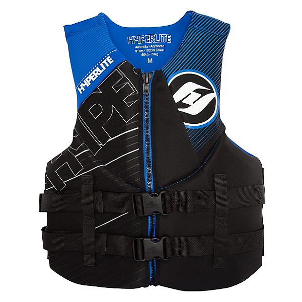 Hyperlite Indy Neo Adult Life Vest 2017, Black-Blue, 600