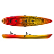 Perception Pescador 13 Tandem Kayak 2016, Sunset, medium