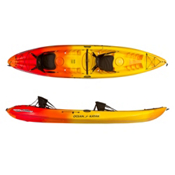 Ocean Kayak Malibu 2XL Tandem Kayak, Sunrise, medium