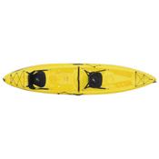 Ocean Kayak Malibu 2XL Tandem Kayak 2017, Yellow, medium
