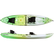 Ocean Kayak Malibu 2XL Tandem Kayak 2017, Envy Green, medium