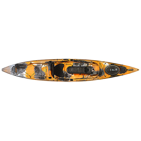 Ocean Kayak Trident Ultra 4.3 Kayak, Orange Camo, 600