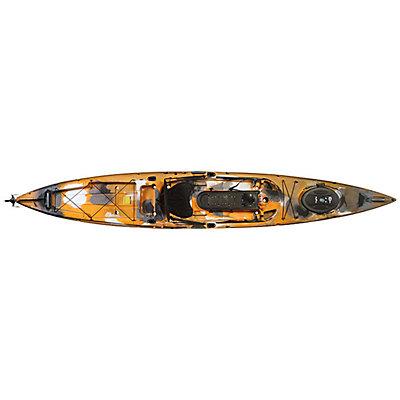 Ocean Kayak Trident Ultra 4.7 Ruddered Fishing Kayak 2016, Orange Camo, viewer