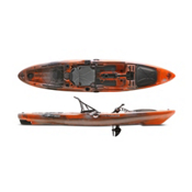 Native Watercraft Slayer Propel 13 Fishing Kayak 2016, Copperhead, medium