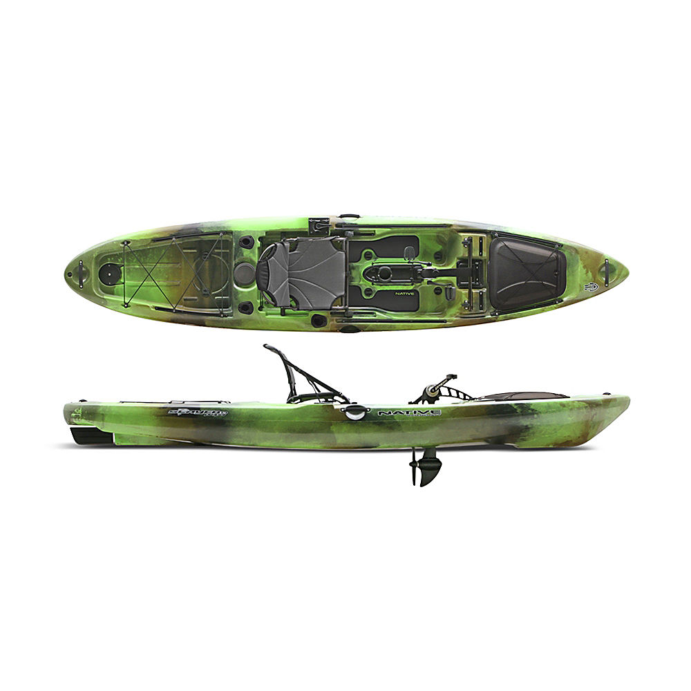 Native watercraft slayer propel 13 fishing kayak 2016 ebay for Fishing from a canoe