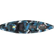 Feelfree Moken 10 Lite Fishing Kayak 2016, Blue Camo, medium