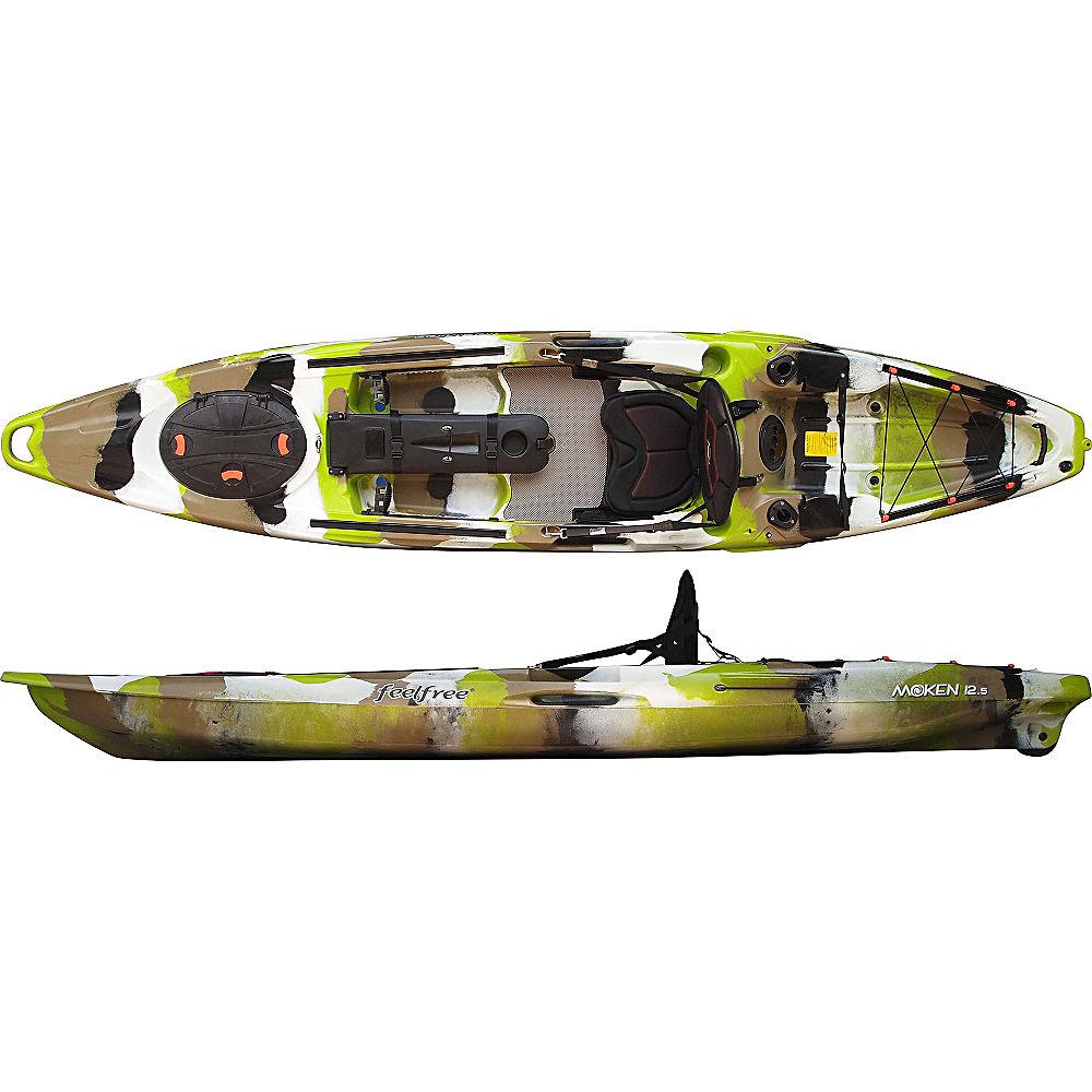 Feelfree moken 12 5 fishing kayak 2016 ebay for 10 fishing kayak