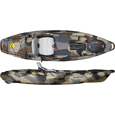 Feelfree Lure 10 Kayak 2017, Winter Camo, viewer