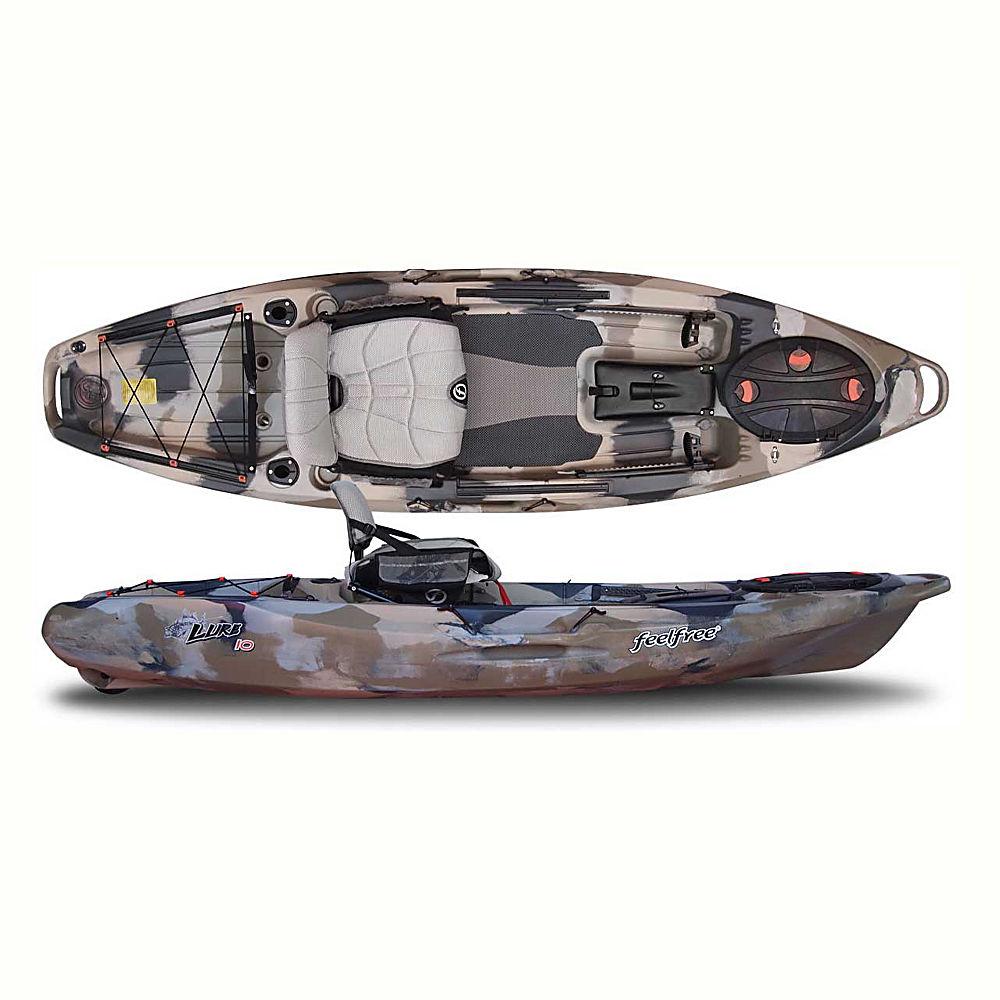 Feelfree lure 10 fishing kayak 2016 ebay for Cabelas fishing kayak