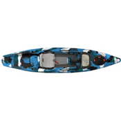 Feelfree Lure 13.5 Fishing Kayak 2016, Blue Camo, medium