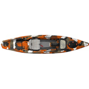 Feelfree Lure 13.5 Kayak 2017, Orange Camo, medium