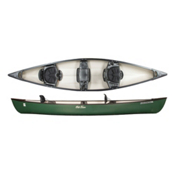 Old Town Saranac 146 Canoe 2016, Green, medium