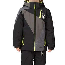 Spyder Mini Enforcer Toddler Ski Jacket (Previous Season), Black-Polar-Polar Wool Print, 256