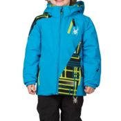 Spyder Mini Enforcer Toddler Ski Jacket (Previous Season), Electric Blue-Electric Blue-Th, medium